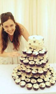 Wedding cake tower 2c