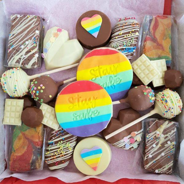 Postal Rainbow Graze Boxes