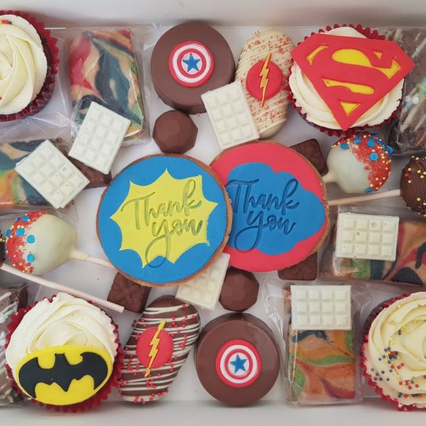 Superhero Graze Boxes